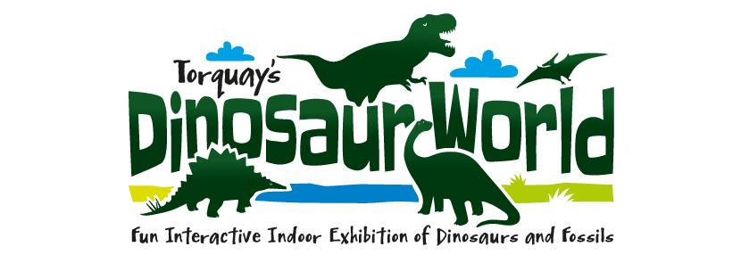 dinosaur-world_logo-design-torquay-frankman